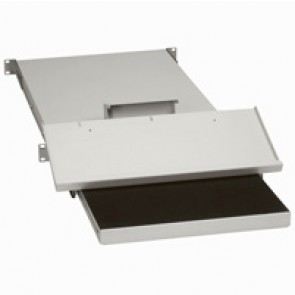 Keyboard shelf - for enclosures depth up to 800 mm - screw fixing
