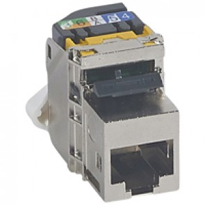 Keystone RJ 45 socket LCS² - category 6 A - UTP