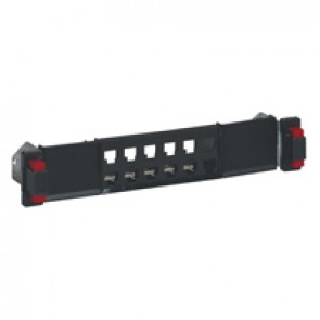 10'' empty modular panel - for LCS² cabinet - 1 U