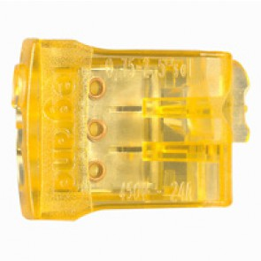 Screwless connection terminal Nylbloc auto - for 3 wires - 24 A - 450 V~
