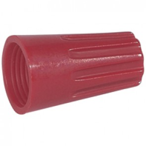 Connector without screw - Capvis cap - capacity 4 mm² - red - box