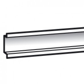 Lina 25 rail - for cabinets width 300 mm - L. 243 mm