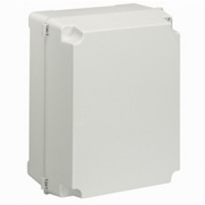 Industrial box - plastic - IP55 - IK08 - opaque cover - 359x265x154 mm