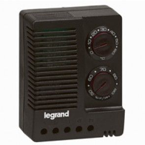 Hygrostat/thermostats - enclosure 230 V~ - 50/60 Hz - adjust temp+humidity
