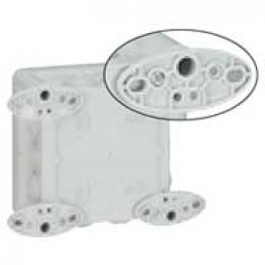Wall mounting lugs (4) - for boxes from width 110 mm