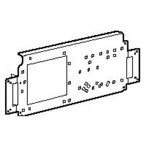 Mounting plate - for cabinets h.800 w.600 mm