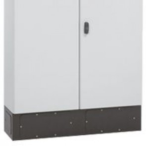 Plinth for Atlantic E cabinet - 600x300 - RAL 7021