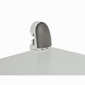 Wall mounting lugs (4) - for Atlantic cabinets - zamak - max. load 300 kg