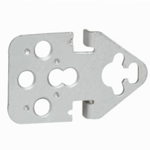 Wall mounting lugs (4) - for Atlantic cabinets - steel - max. load 300 kg