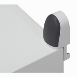 Wall mounting lugs (4) - for Marina cabinets height 400/1200 - max. load 150 kg