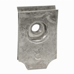 Clip nuts for perforated plates - for M4 screws