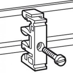 Fixing equipment - on rails EN 60715 - for M4 screw
