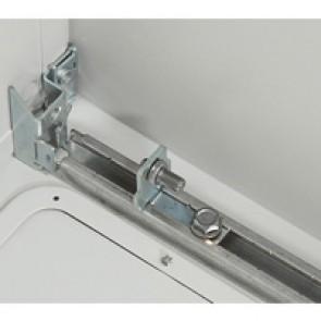 Slides (4) - for Atlantic cabinets depth 400 mm - for depth adjustment