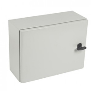 Atlantic metal cabinet - horizontal version - 300 x 400 x 160 mm - 1 door