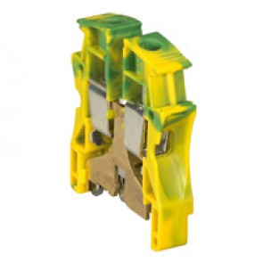 Terminal block Viking 3 -screw -fr conductor -1 connection -metal base -pitch 15