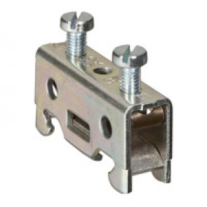 Terminal block viking 3 - screw -for conductor -1 connect -bare lock -metal base