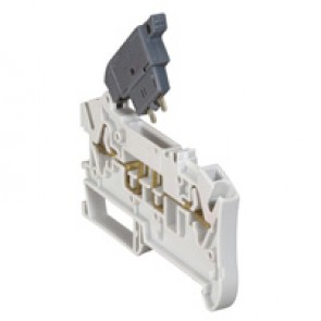 Terminal block Viking 3 - spring - disconnect - for fuse cartridge 5x20