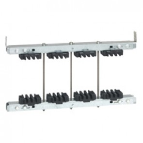Fixed isolating support for busbar 6300 A - 3 bars 200 x 10 mm