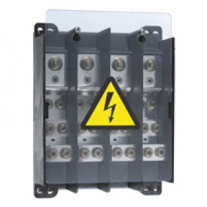 Power distribution block - extra-flat for lugs - 250 A