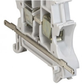 Screening continuity bracket - screw - 1 entry/1 outlet - pitch 5,6,8,10