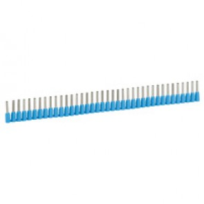 Ferrules in strips Starfix - cross section 0.75 mm² - blue