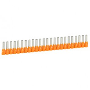Ferrules in strips Starfix - cross section 4 mm² - orange