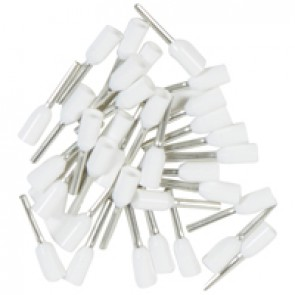Ferrules Starfix - simples individuals - cross section 0.5 mm² - white