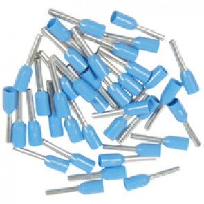 Ferrules Starfix - simples individuals - cross section 0.75 mm² - blue