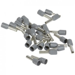 Ferrules Starfix - simples individuals - cross section 2.5 mm² - grey