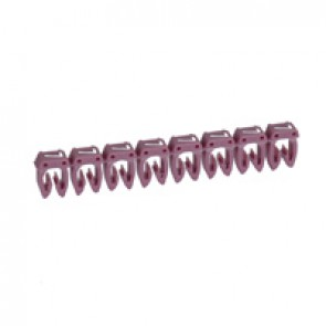Marker CAB 3 - for wiring 0.5 to 1.5 mm² - number 7 - purple