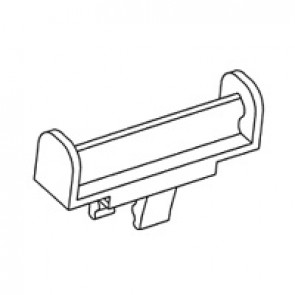 Support CAB 3 - for markers (7 from 0.15 to 1.5 mm² or 6 from 0.5 to 1.5 mm²)