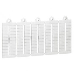 Marker label sheet Viking 3 - blank marker - for blocks pitch 5 mm