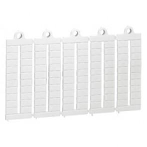 Marker label sheet Viking 3 - blank marker - for blocks pitch 6 mm