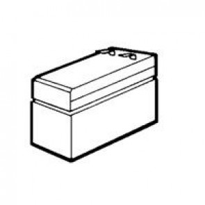 Lead acid battery for fire detection and alarm panels - 12 V - 12 Ah