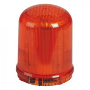 Large size LED beacon to be equipped with base - 20 Candelas - IP65 IK08 - Orange