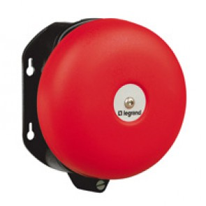 Bell - for industrial and alarm use - IP44 - IK10 - 24 V= - Ø150 mm gong