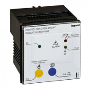 Remote panels for insulation monitoring device (IMD) - for mounting on enclosure door - 24 or 230 V~