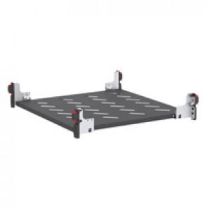 Fixed shelf - for enclosures depth 600 mm - depth 450 mm - quick fixing