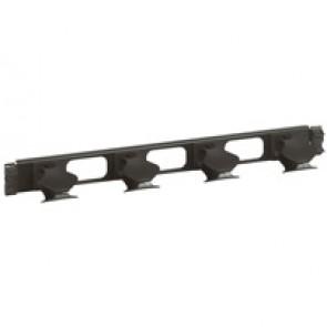 19'' management panel - 1 U - metal 2 axes - quick fixing