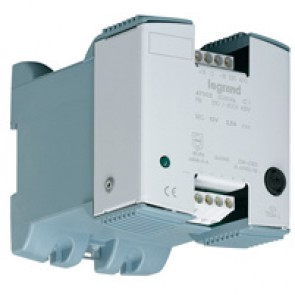 Filtered rectified power supply 1 phase - prim 230-400 V / sec 24 V= - 24 W