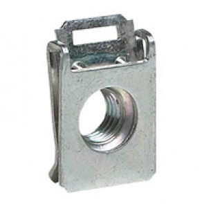 Clip nuts for cabinet frame and crosspieces - M6 screw