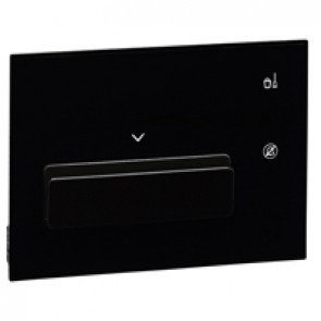 Keycard holder user interface hotel equipment BUS - black