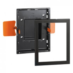 Flush mounting accessory for extra-slim flush-mounting installation user interface hotel equipment BUS