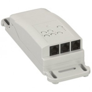 Lighting management-room controller ON/OFF-ceiling mounting-2 outputs-16 A