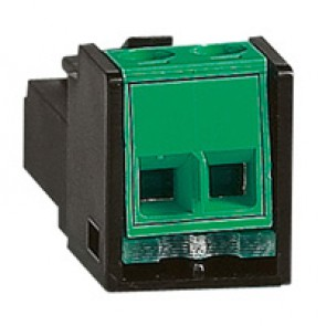 Lighting management - male RJ 45 adaptor for SCS BUS cable connection