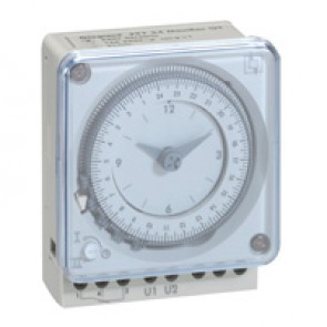 Analogue time switch - weekly programme - 16 A 250 V~