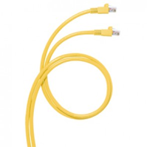 Cord for area distribution box - Cat.6 A - RJ 45/RJ 45 - S/FTP unscreened - 15 m