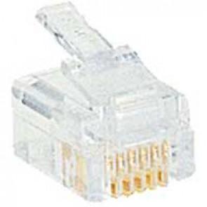 Plug RJ 12 - 6 contacts - width 9.65 mm
