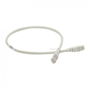 Patch cord/user cord RJ 45 - category 5e - F/UTP screened - 2 m