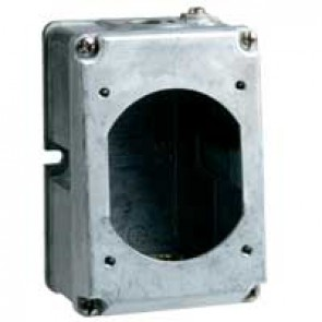 Box Hypra - IP44 - for surface mounting sockets 2P+E - 16 A - metal